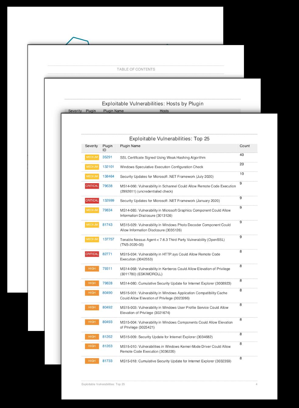 Exploitable Vulnerabilities Report
