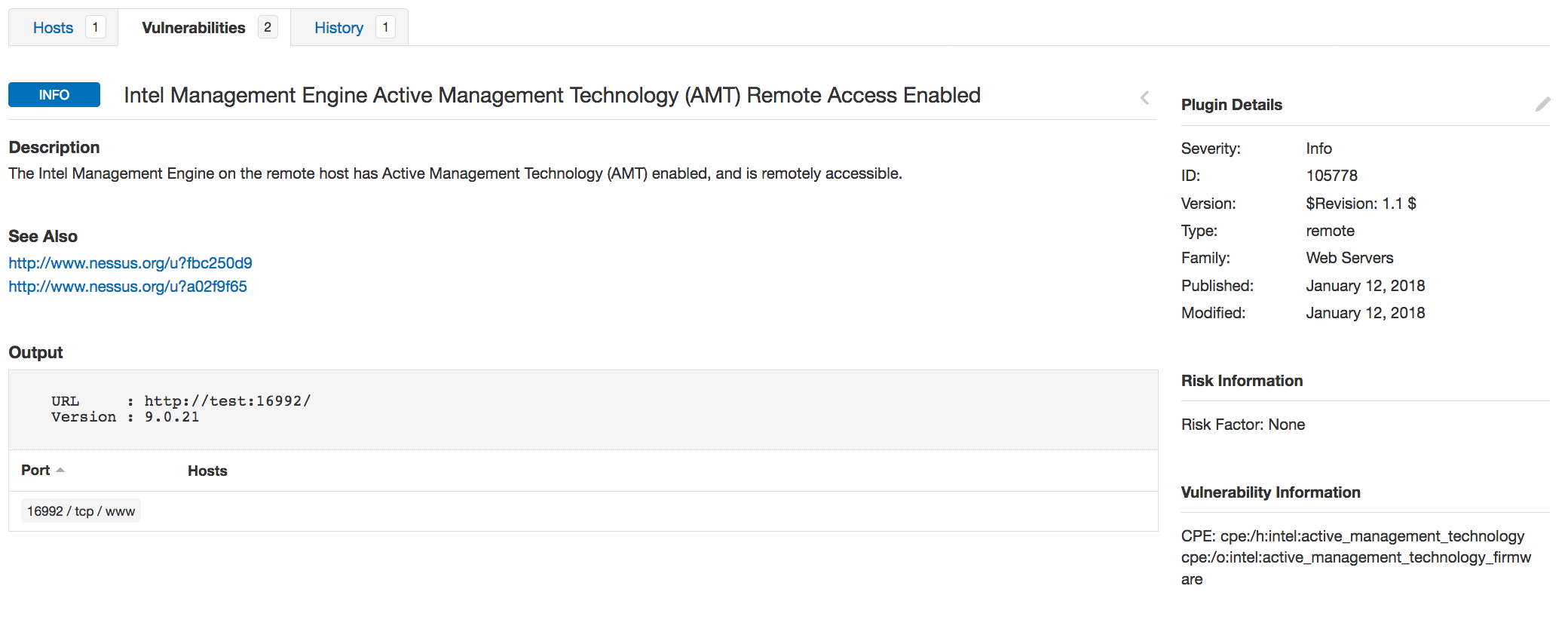 Intel AMT Back in the News - Blog   Tenable®