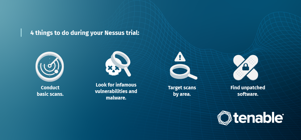 4 things to do during your Nessus trial