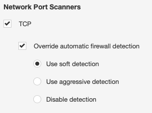 Nessus Scan Policy - Network Port Scanners