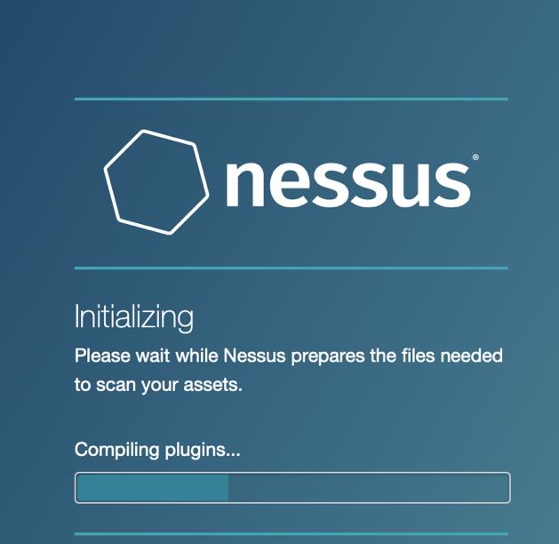 Nessus Initializing