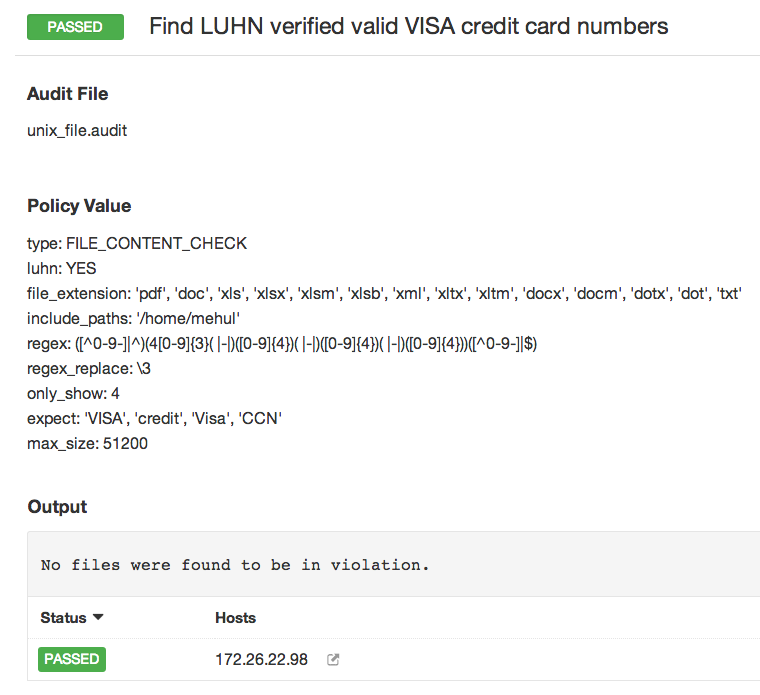 passed find luhn verified valid visa credit card numbers