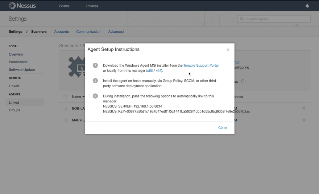 how to install and use nessus