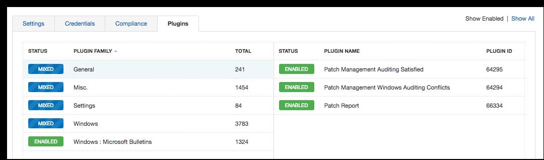 Big Fix Patch Configuration