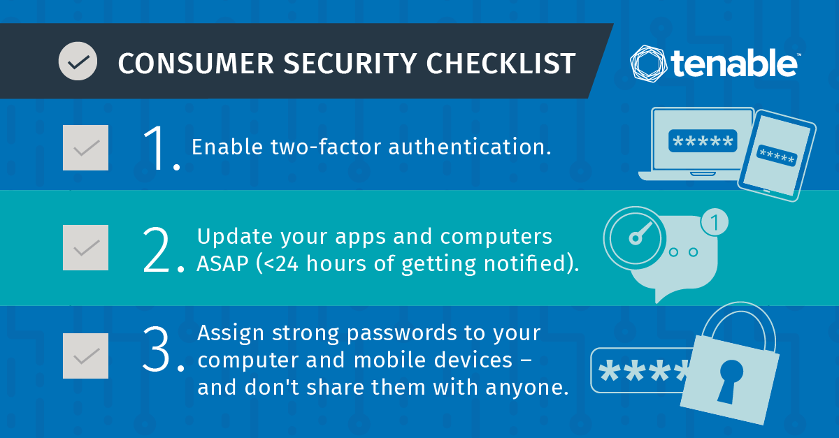 Consumer Cybersecurity Checklist
