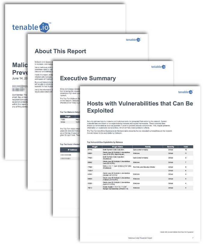 Malicious Code Prevention Report