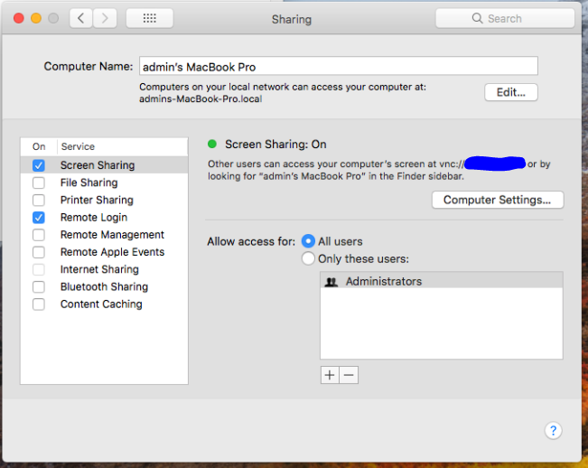 Detecting macOS High Sierra root account without