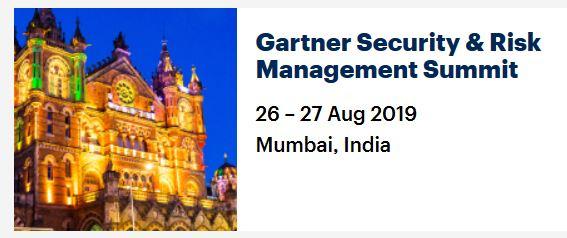 Gartner Security & Risk Management Summit, Mumbai