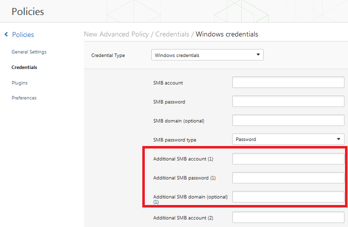 how to find smb username and password