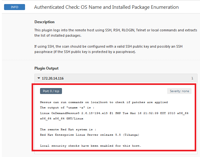 How to Enable Credentialed Checks on Unix - Nessus Tip
