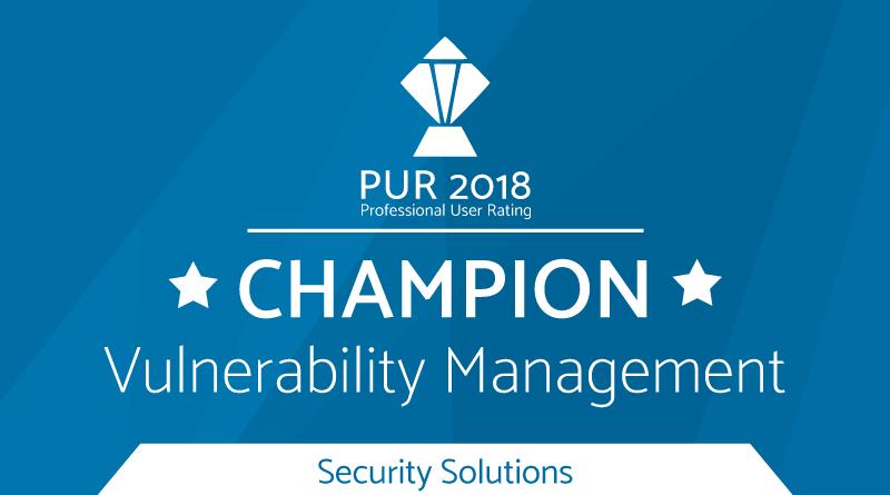 PUR-S Award Champion 2018