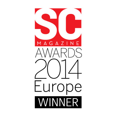 SC Magazine Winner Europe award