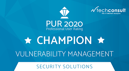 PUR 2020 Professional User Rating Champion Vulnerability Management