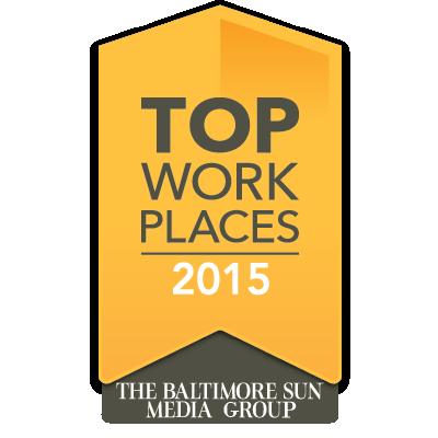 Baltimore Sun Top Places award