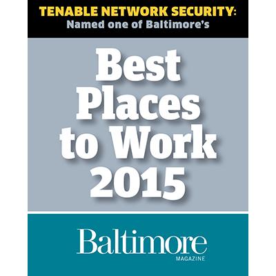 Baltimore Magazine Best Workplace award