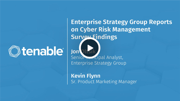 Enterprise Strategy Group Reports on Cyber Risk Management Survey Findings