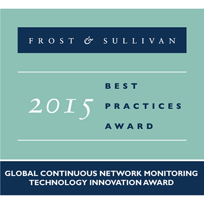 Frost & Sullivan 2015 Best Practices Award