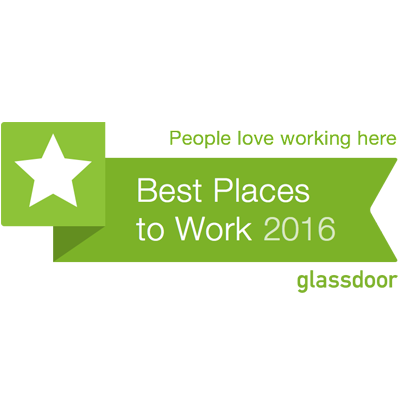 Glassdoor Top Places to Work 2016