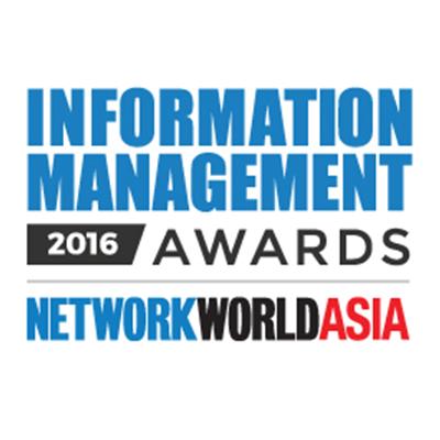 2016 NetworkWorld Asia Information Management Awards