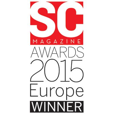 SC Magazine Awards 2015 Europe Winner
