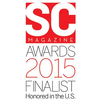 SC Magazine 2015 Finalist award