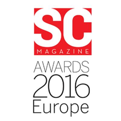 SC Magazine Awards 2016 Europe Winner