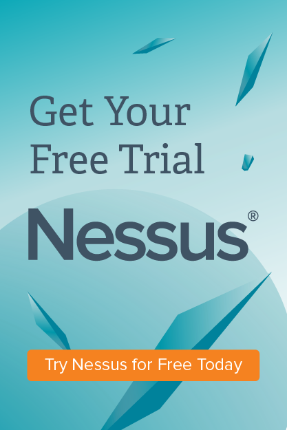 Try Nessus vulnerability scanner for free today
