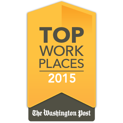 Washington Post Top Places award