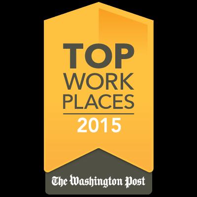 Washington Post Top Places award