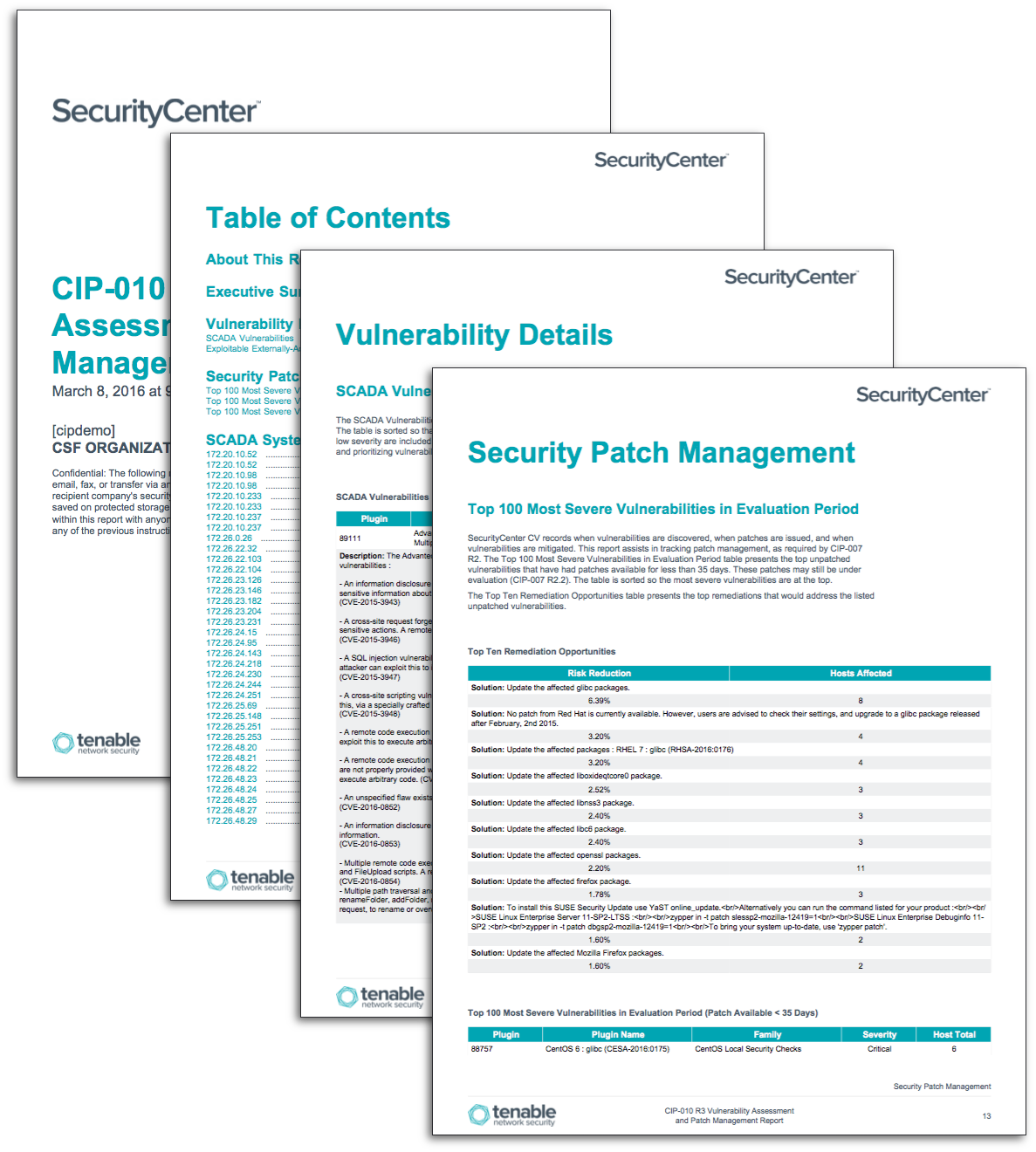 Security Assessment Template: Sample Vulnerability Assessment Report Is Sample
