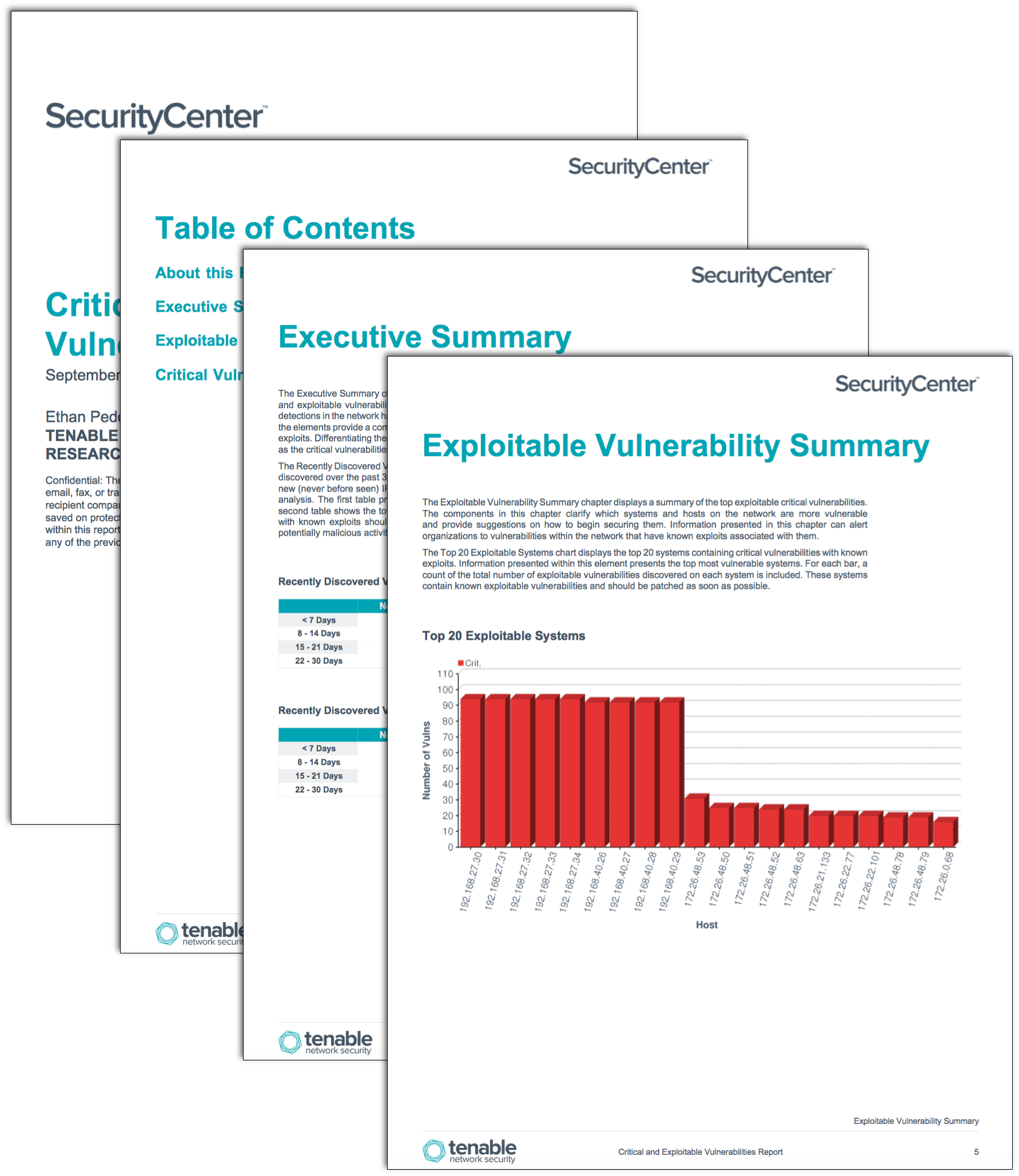 Critical and exploitable vulnerabilities report sc for Security remediation plan template