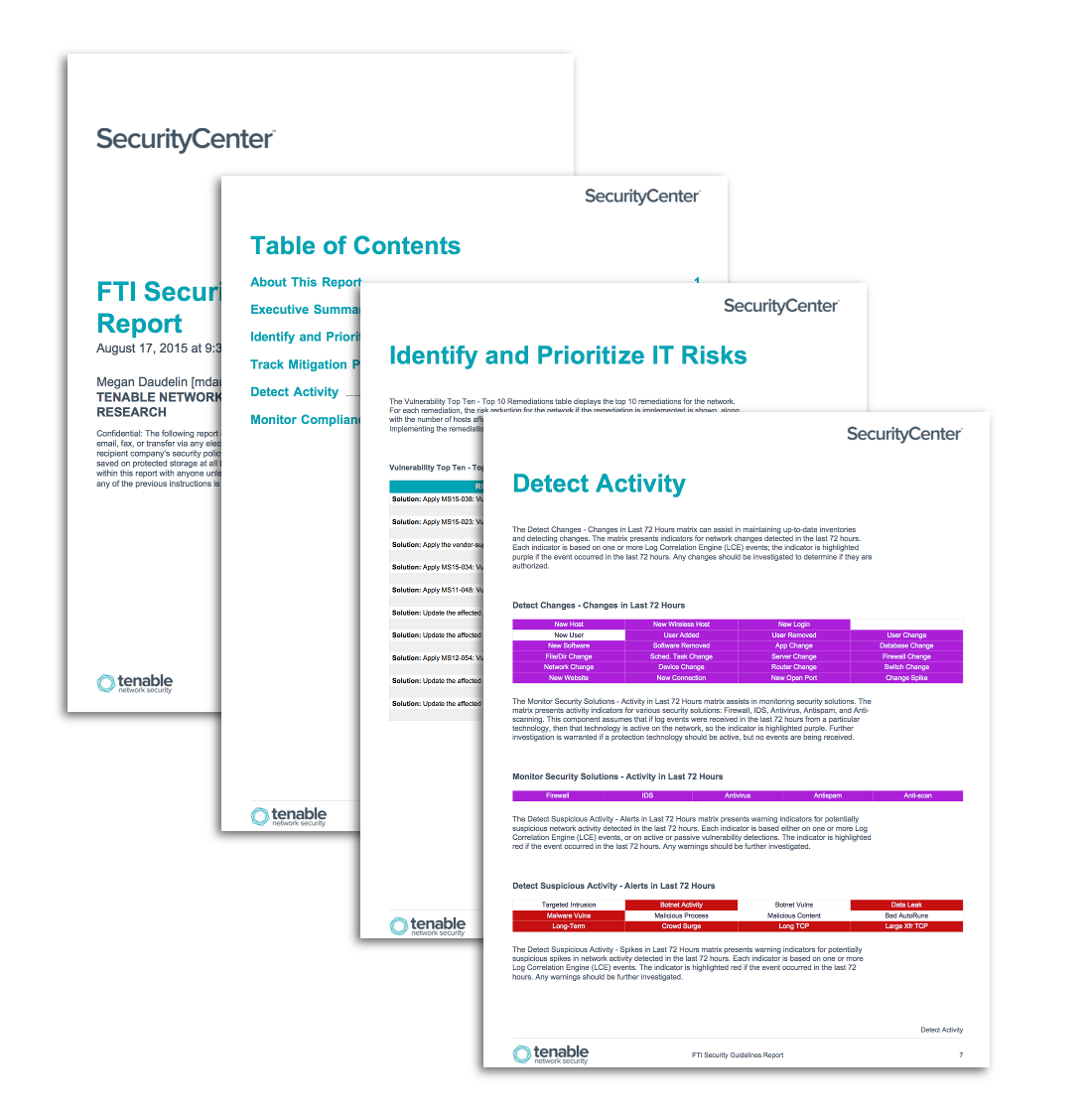FTI Security Guidelines Report