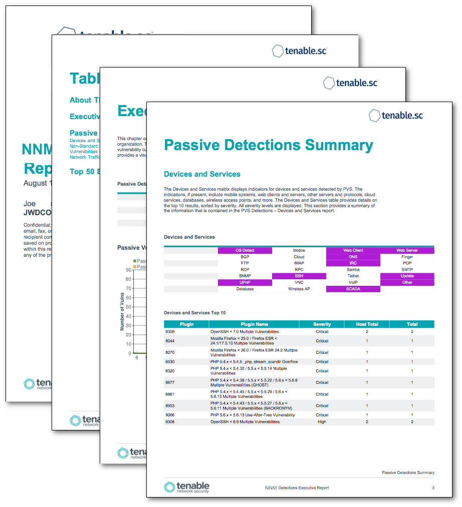 NNM Detections Executive Report