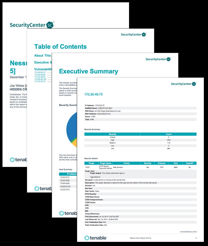 Nessus Scan Report (Top 5) - SC Report Template | Tenable®