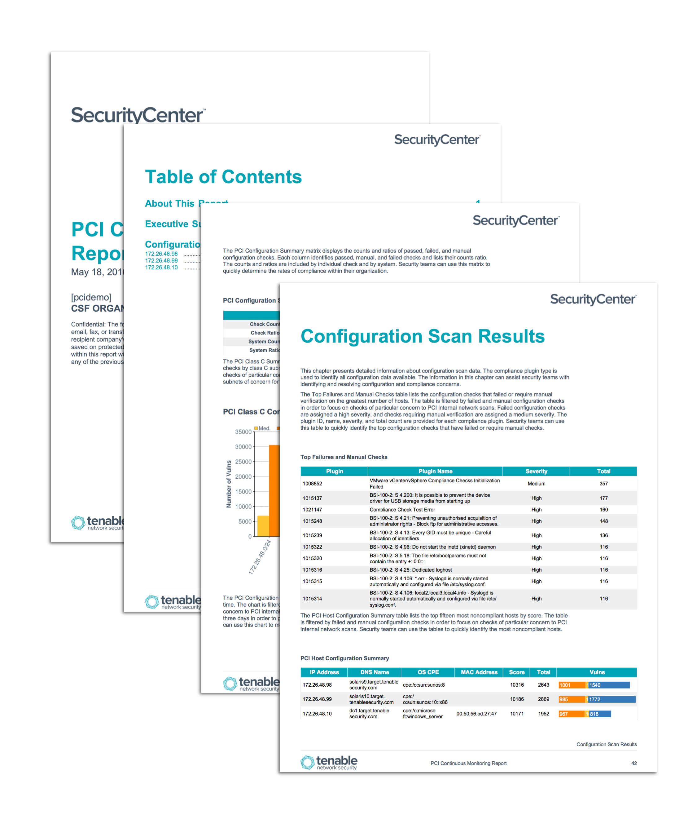 Pci configuration audit report sc report template tenable for Pci security policy template free