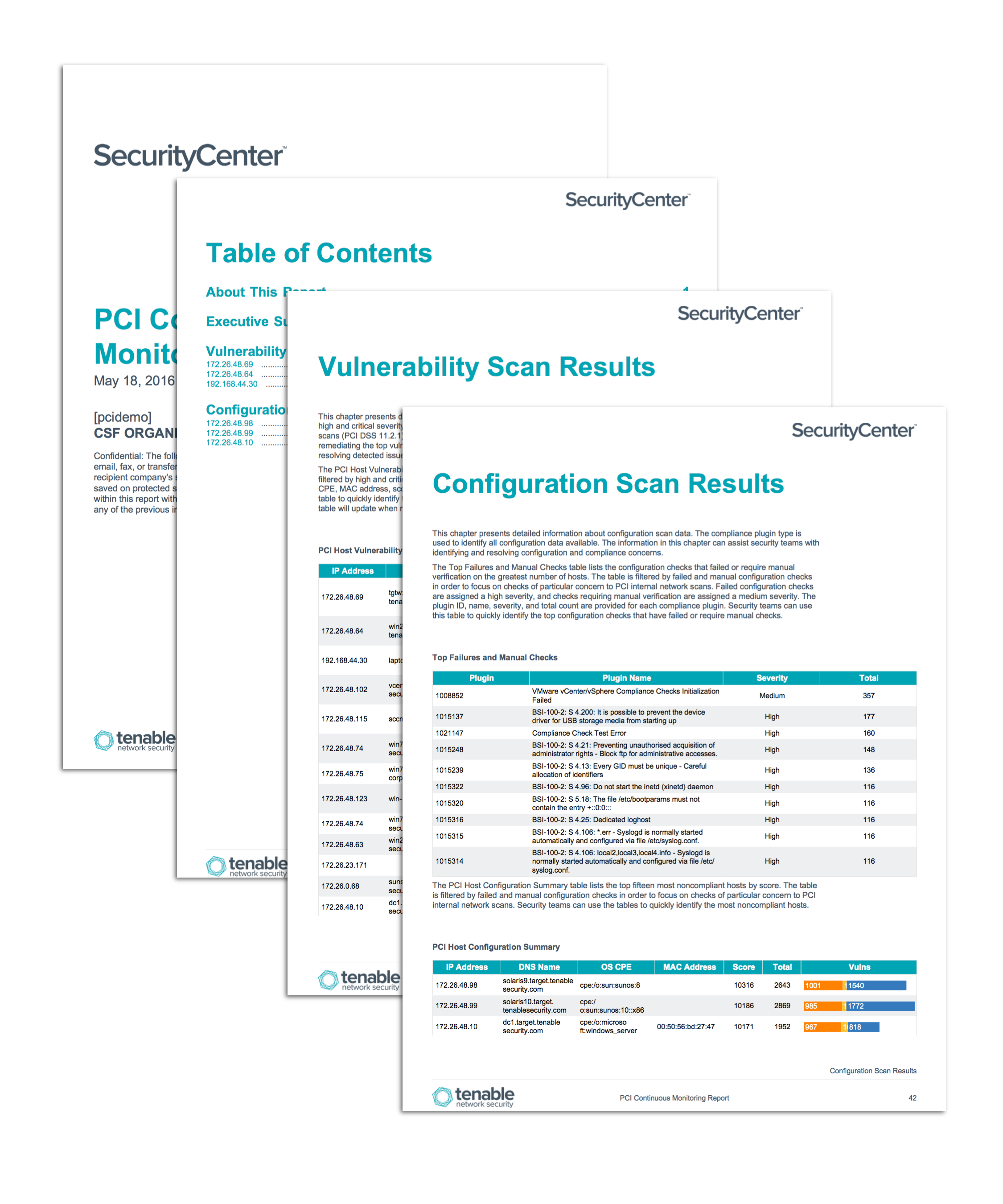 Pci continuous monitoring report sc report template for Pci security policy template free