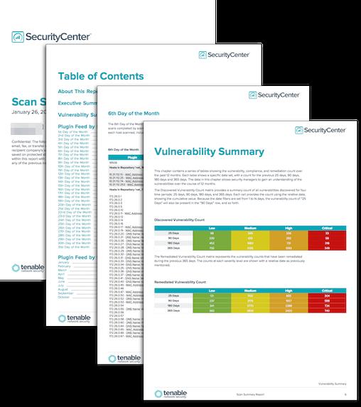 Scan Summary Report