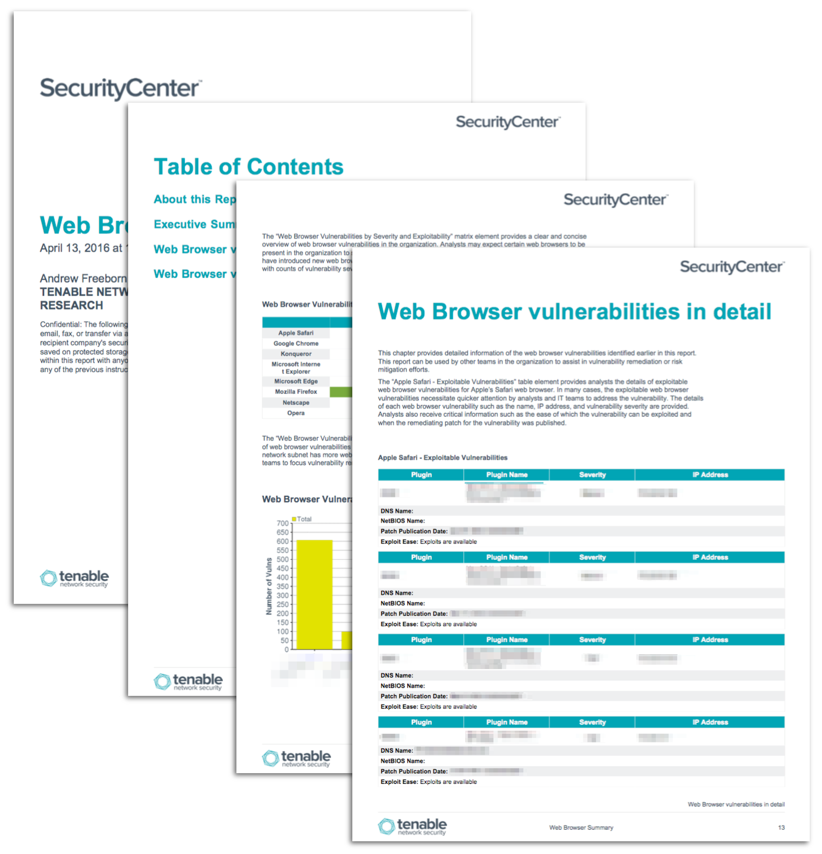 Web Browser Vulnerability Report