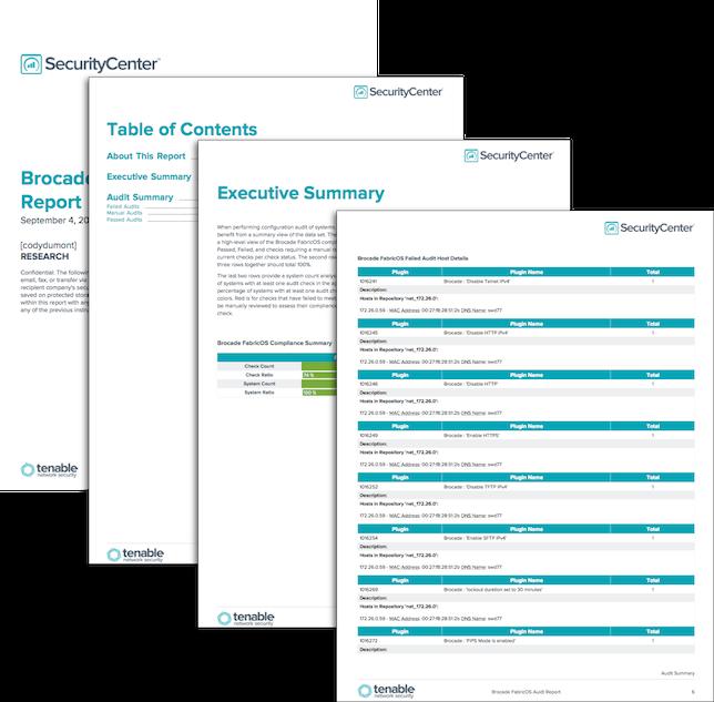 Storage Device Audit Reports