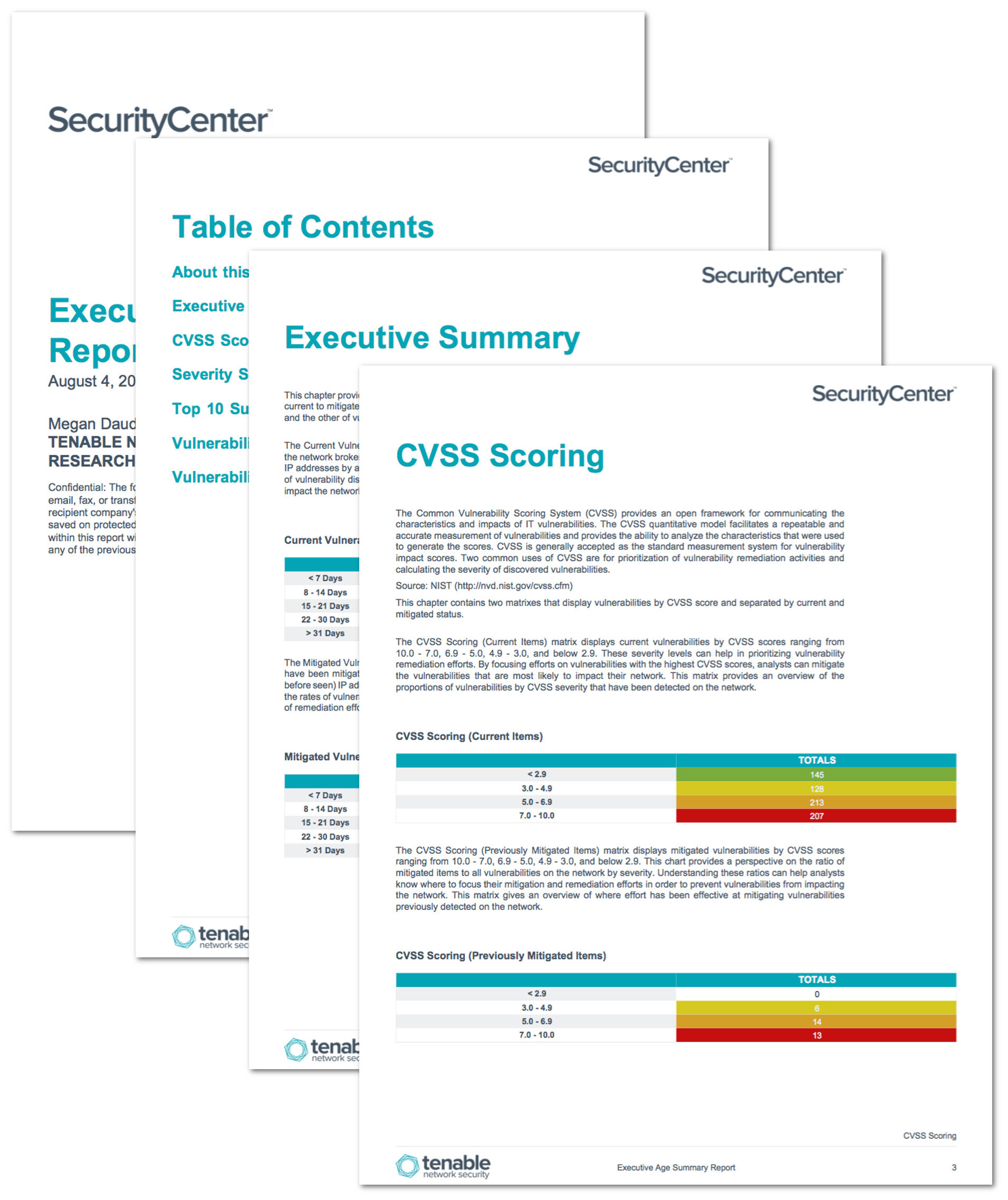 security remediation plan template - executive age summary report sc report template tenable