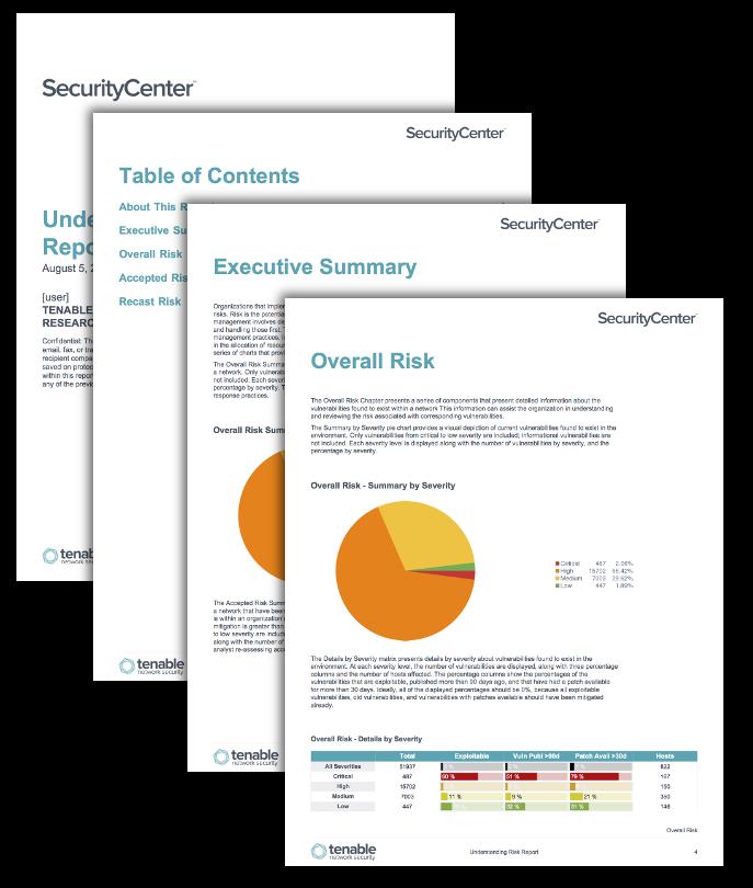Understanding Risk Report
