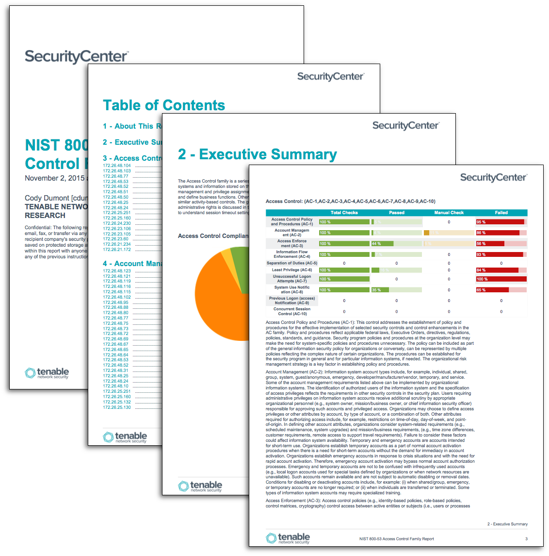 Nist 800 53 family reports sc report template tenable for Nist sp 800 18 template