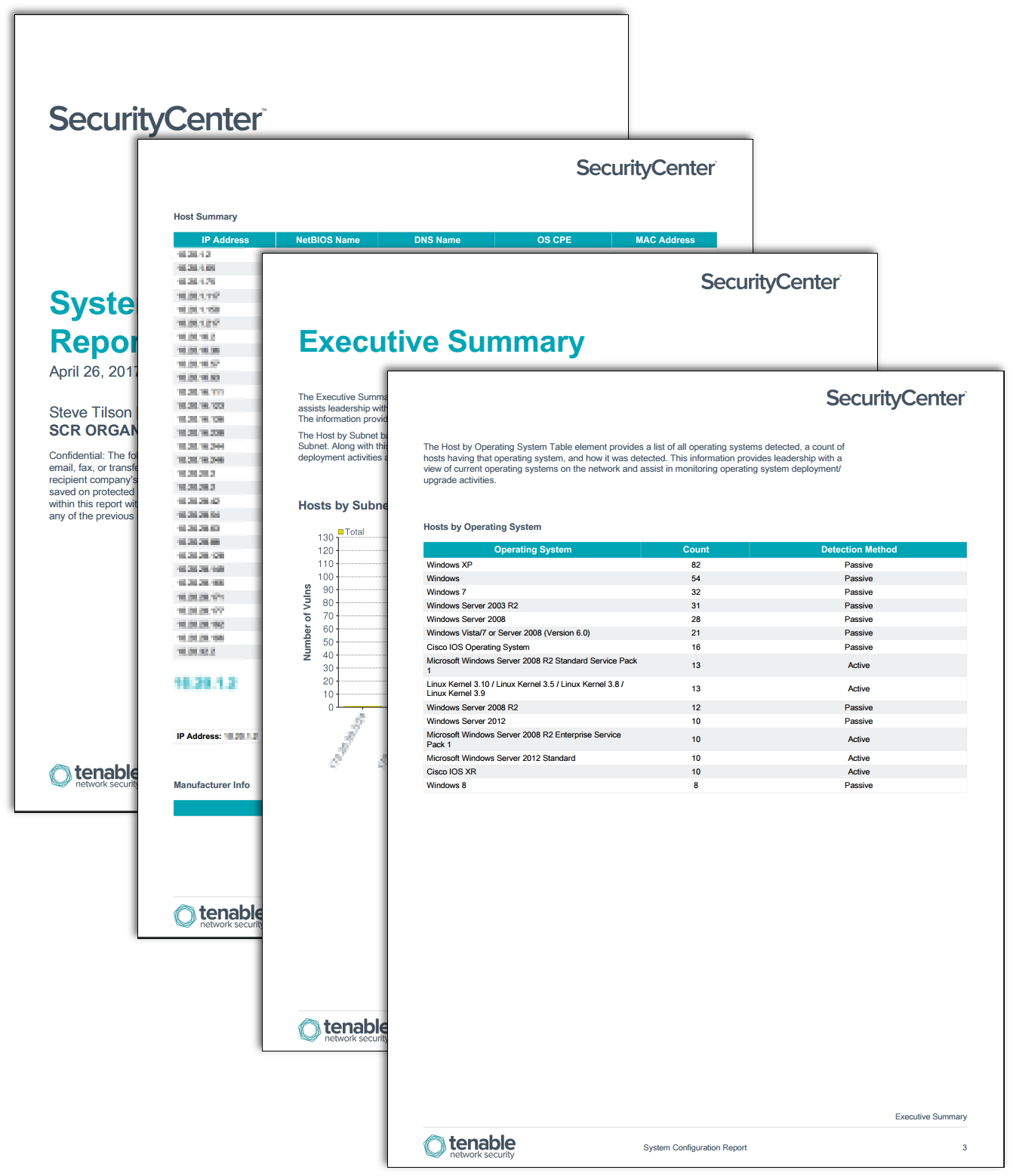 System Configuration Report Sc Report Template Tenable 174