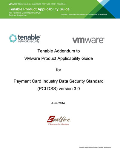 vmare tenable pci solutions guide