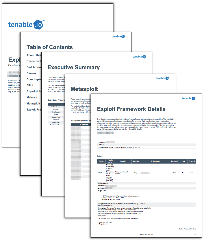 Exploit Frameworks Report