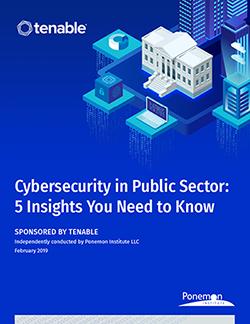 Ponemon Public Sector Report