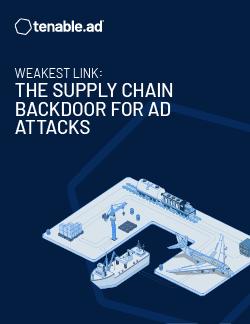 通过供应链后门实施 AD 攻击