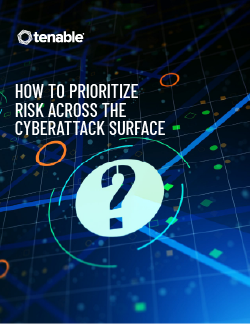 How to Prioritize Risk Across the Cyberattack Surface Whitepaper