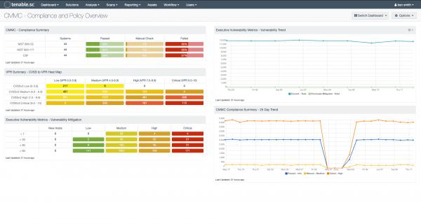 CMMC - Compliance Policy Overview Screenshot